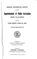 Statistical Report Of The Superintendent Of Public Instruction