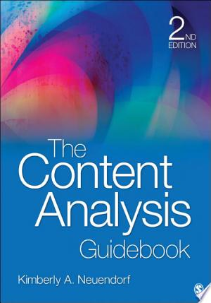 Download The Content Analysis Guidebook Free Books - Get New Books