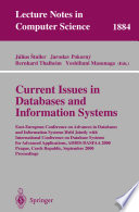 Current Issues in Databases and Information Systems