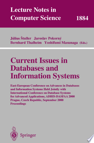 Download Current Issues in Databases and Information Systems Free PDF Books - Free PDF