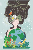 Mother Nature A5 Lined Journal Notebook Save Our Planet Share The Message Show The Love