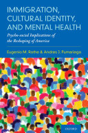 Immigration, Cultural Identity, and Mental Health Pdf/ePub eBook