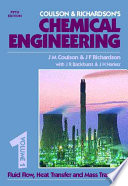 Coulson & Richardson's Chemical Engineering: Fluid flow, heat transfer, and mass transfer (5th ed., 1996)