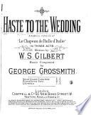 Haste to the Wedding