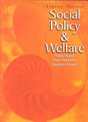 Social Policy and Welfare