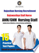 Rajasthan STAFF NURSE Practice Test BOOK