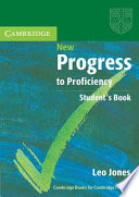 Cover of New Progress to Proficiency Student's Book