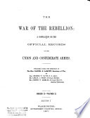 The War of the Rebellion  v  1 8  serial no  114 121  Correspondence  orders  reports and returns  Union and Confederate  relating to prisoners of war     and to state or political prisoners  1894  i  e  1898  1899  8 v
