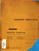 Laboratory Swatch Book Book