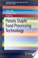 Potato Staple Food Processing Technology