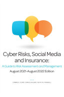 Cyber Risks  Social Media and Insurance  A Guide to Risk Assessment and Management