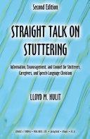 Straight Talk on Stuttering