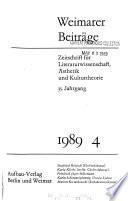 Weimarer Beiträge