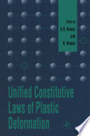 Unified Constitutive Laws of Plastic Deformation
