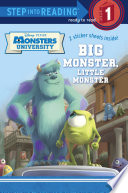 Big Monster  Little Monster  Disney Pixar Monsters University