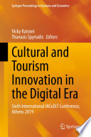 Cultural and Tourism Innovation in the Digital Era Book