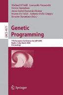 Genetic Programming