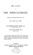 Pdf The Lives of the Poets-laureate