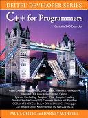 C++ for Programmers Pdf/ePub eBook