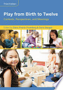 Play from Birth to Twelve Book PDF