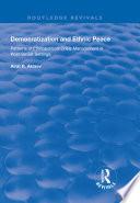Democratization and Ethnic Peace