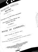 Parliamentary Debates Hansard Official Report