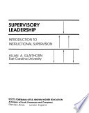 Supervisory Leadership
