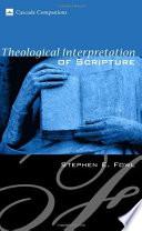 Theological Interpretation of Scripture Book