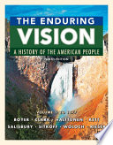 The Enduring Vision Volume I To 1877