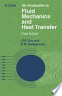 An Introduction to Fluid Mechanics and Heat Transfer Book