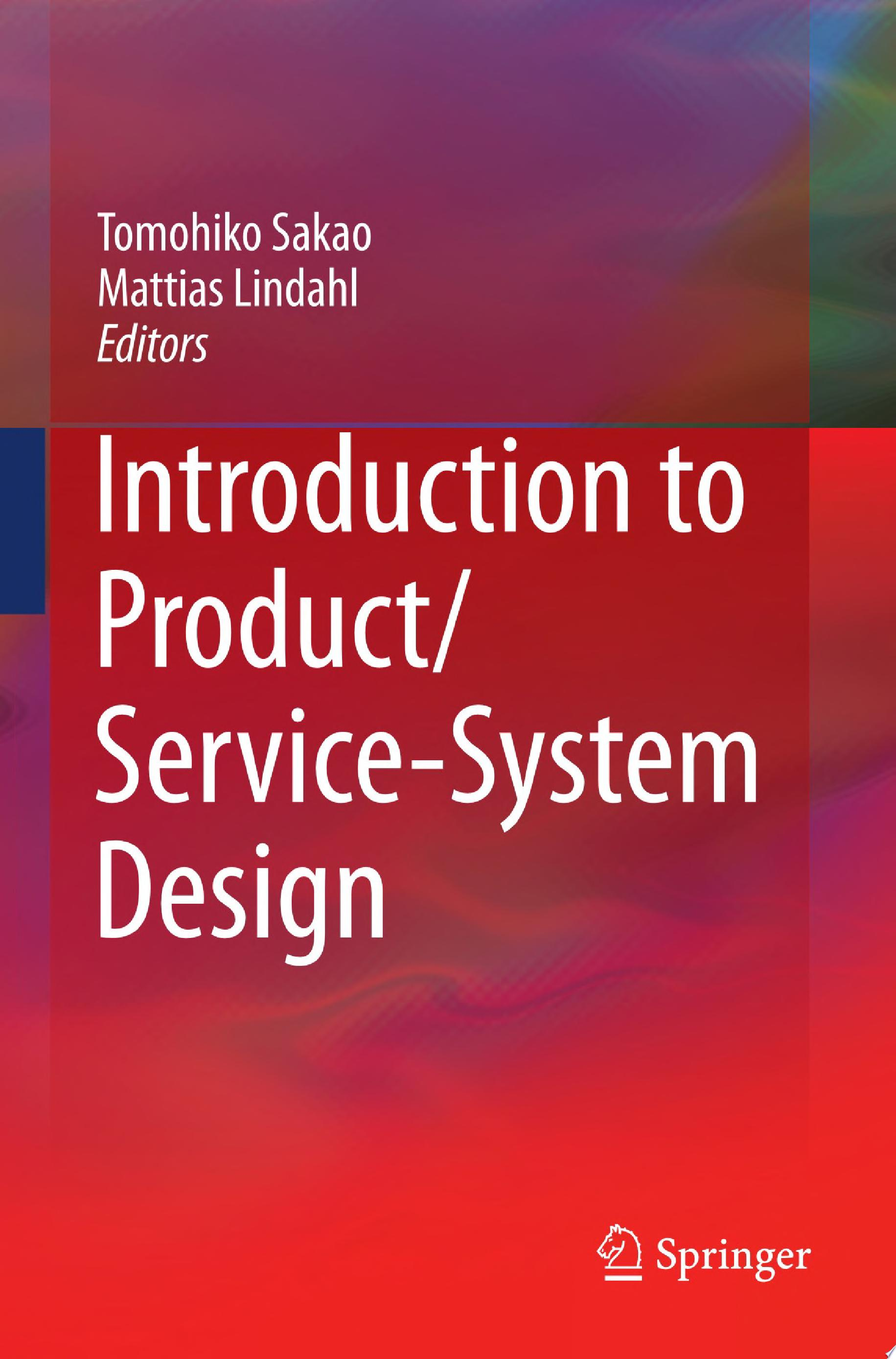 Introduction to Product Service System Design