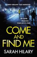 Pdf Come and Find Me (DI Marnie Rome Book 5)