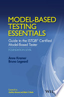 Model Based Testing Essentials   Guide to the ISTQB Certified Model Based Tester
