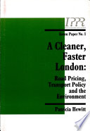 A Cleaner Faster London Book PDF