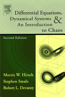 Differential Equations  Dynamical Systems  and an Introduction to Chaos Book