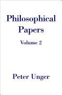 Philosophical Papers Pdf/ePub eBook