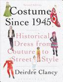 Costume Since 1945