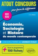 Pdf Économie, Sociologie et Histoire du monde contemporain (ESH) - concours d'entrée aux grandes écoles - ECE1 et ECE2 - 100 fiches Telecharger