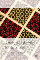 Analytic Islamic Philosophy