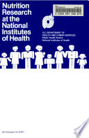 Nutrition Research At The National Institutes Of Health