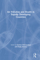Pdf Air Pollution and Health in Rapidly Developing Countries
