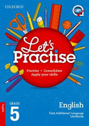 Books - Oxford Lets Practise English First Additional Language Grade 5 Practice Book | ISBN 9780190403744