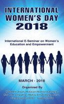 International Women s Day 2018  International E Seminar on Women s Education and Empowerment