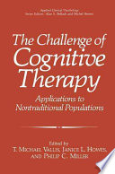 The Challenge of Cognitive Therapy Book