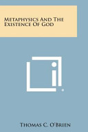 Metaphysics and the Existence of God