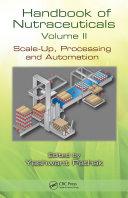 Handbook of Nutraceuticals Volume II
