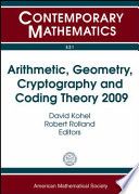 Arithmetic Geometry Cryptography And Coding Theory 2009