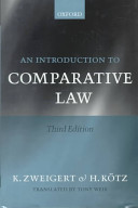 Introduction to Comparative Law