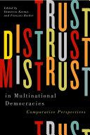 Trust, Distrust, and Mistrust in Multinational Democracies Pdf/ePub eBook