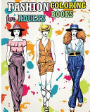 Fashion Coloring Books for Adults